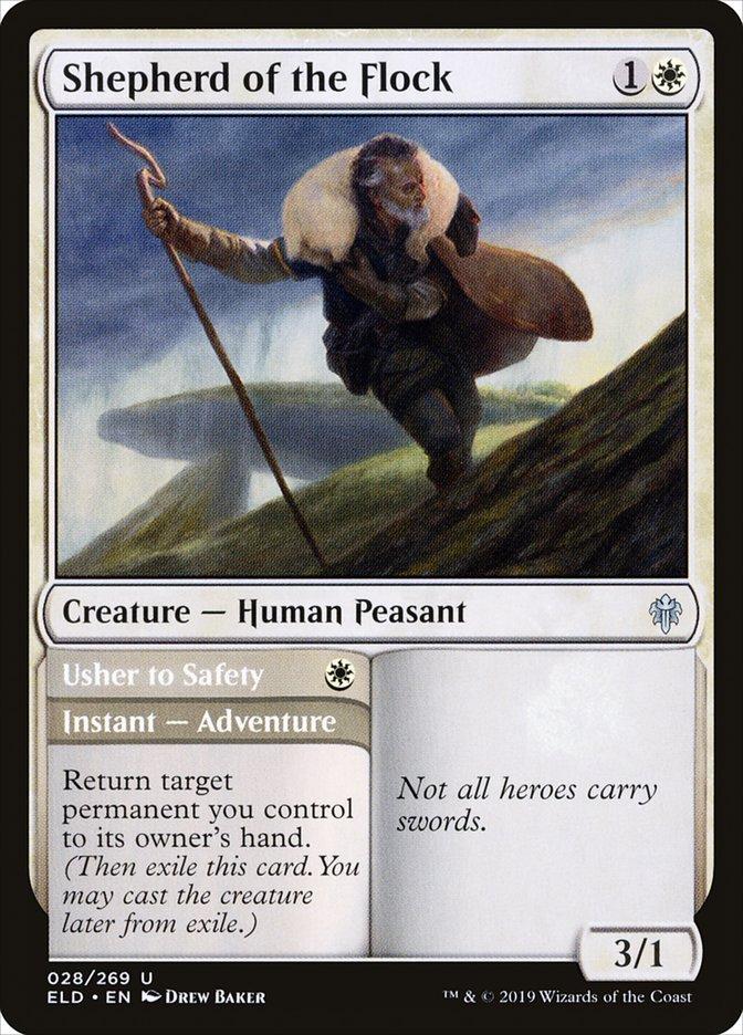 Carta /Shepherd of the Flock de Magic the Gathering