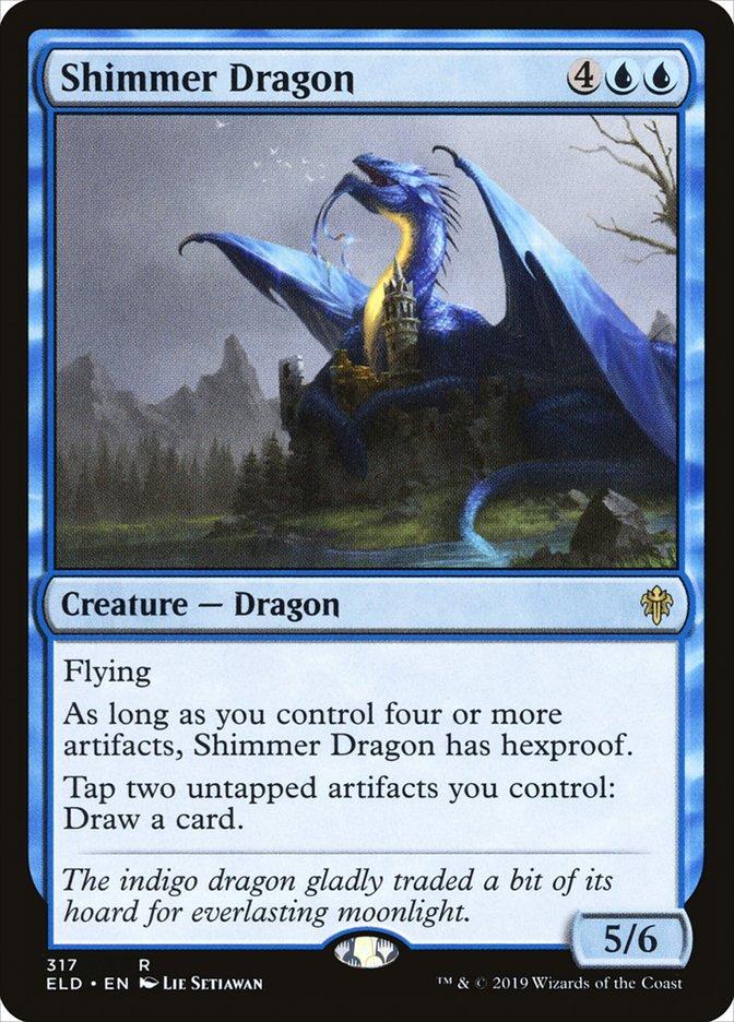 Carta Shimmer Dragon/Shimmer Dragon de Magic the Gathering