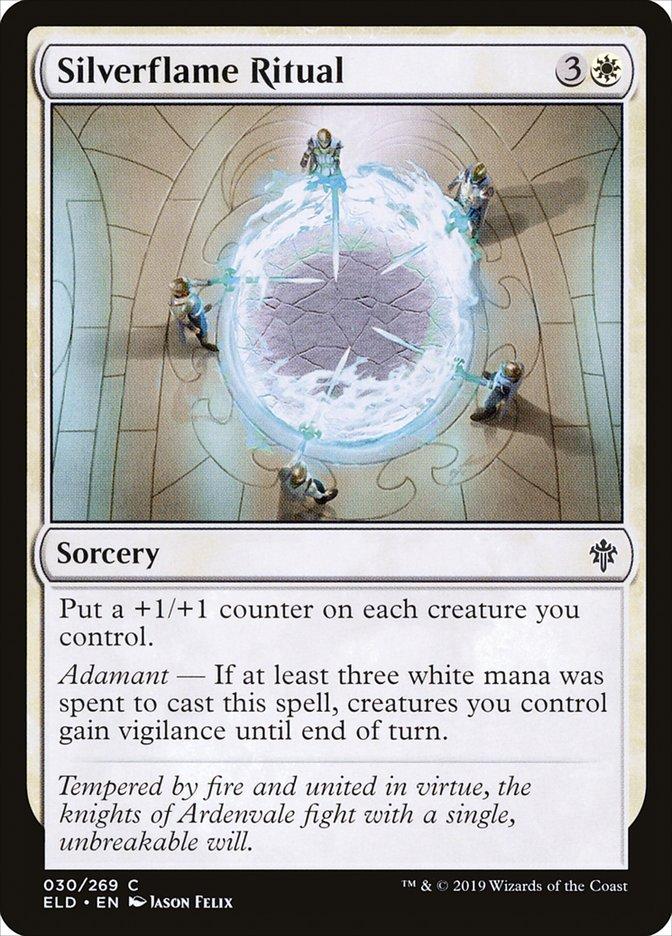 Carta Ritual da Chama Argêntea/Silverflame Ritual de Magic the Gathering