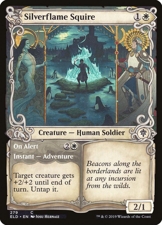 Carta /Silverflame Squire de Magic the Gathering