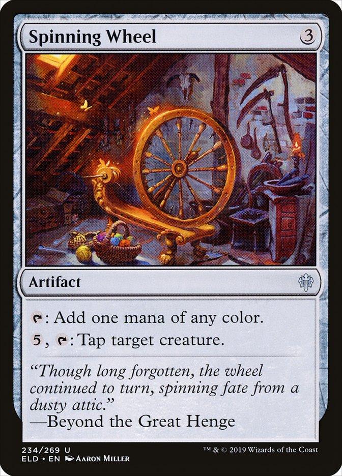 Carta Roda de Fiar/Spinning Wheel de Magic the Gathering