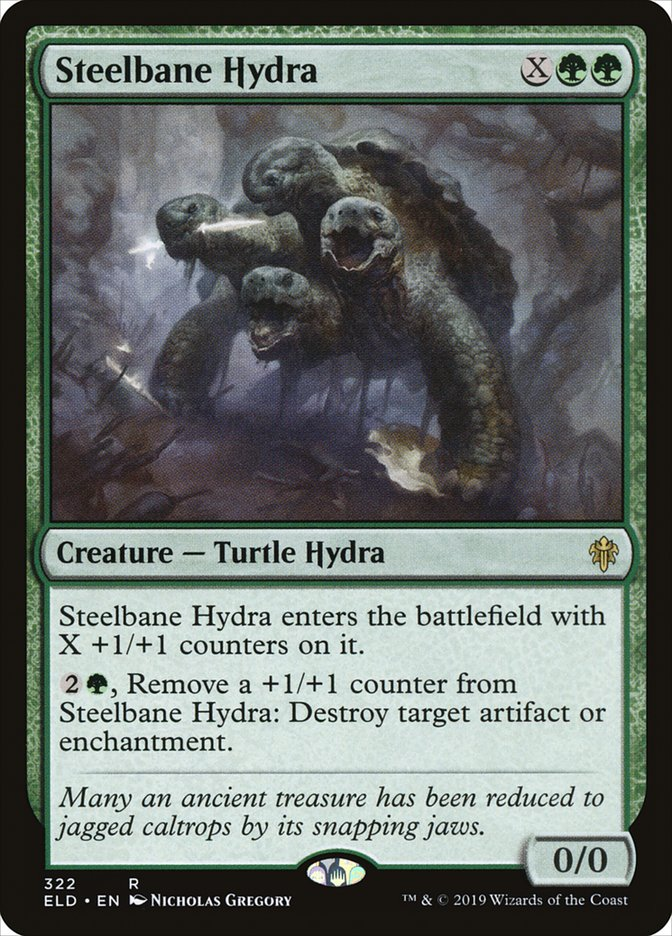 Carta Steelbane Hydra/Steelbane Hydra de Magic the Gathering