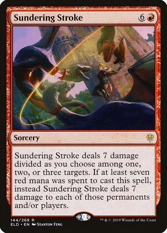 Carta Golpe Decepador/Sundering Stroke de Magic the Gathering