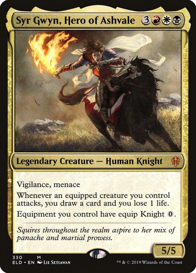 Carta Syr Gwyn, Heroína de Valcinza/Syr Gwyn, Hero of Ashvale de Magic the Gathering