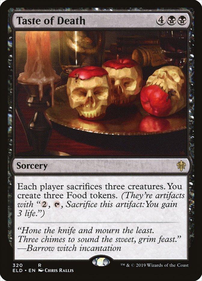 Carta Taste of Death/Taste of Death de Magic the Gathering