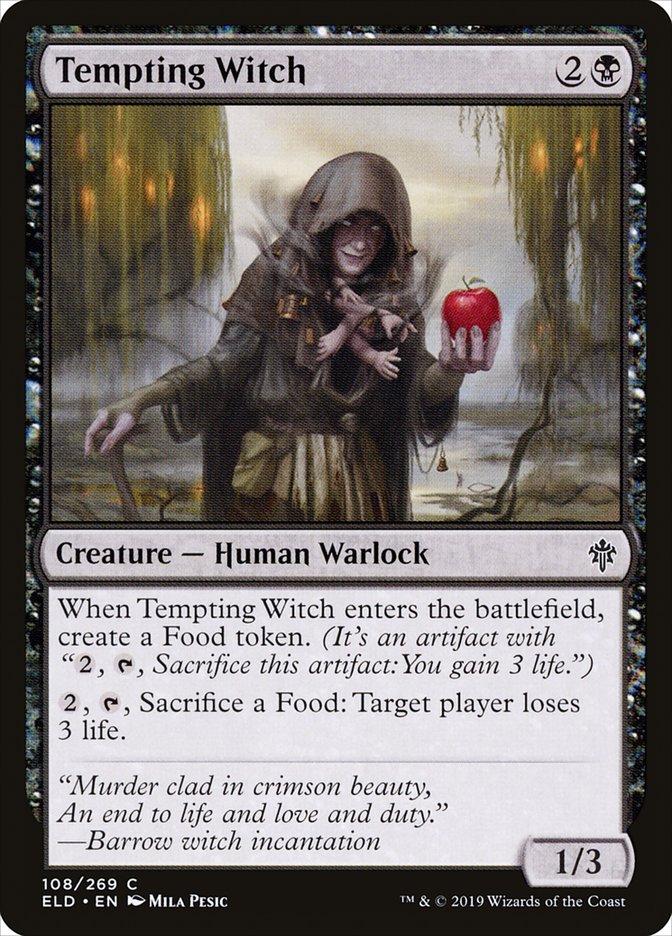 Carta Bruxa Tentadora/Tempting Witch de Magic the Gathering