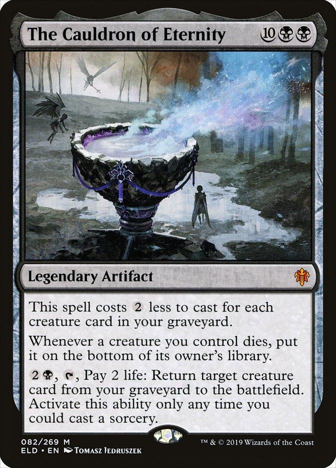 Carta O Caldeirão da Eternidade/The Cauldron of Eternity de Magic the Gathering
