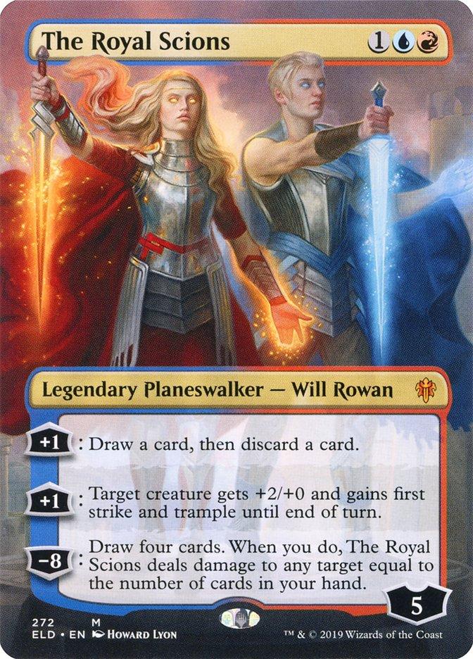Carta Os Herdeiros Reais/The Royal Scions de Magic the Gathering