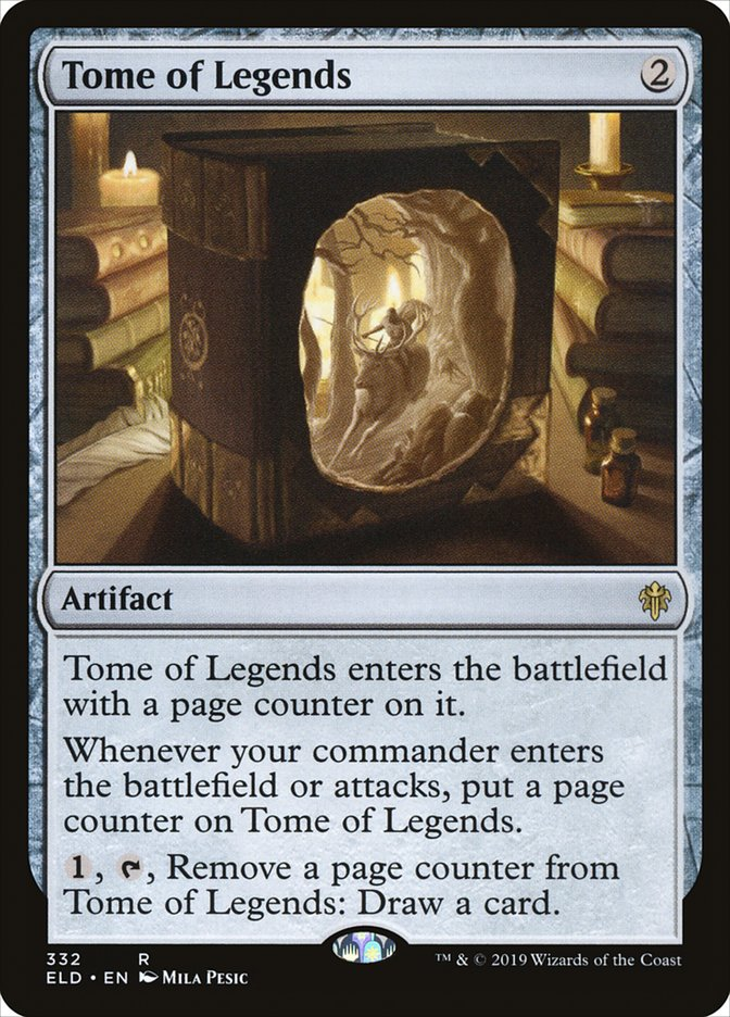 Carta Tome of Legends/Tome of Legends de Magic the Gathering