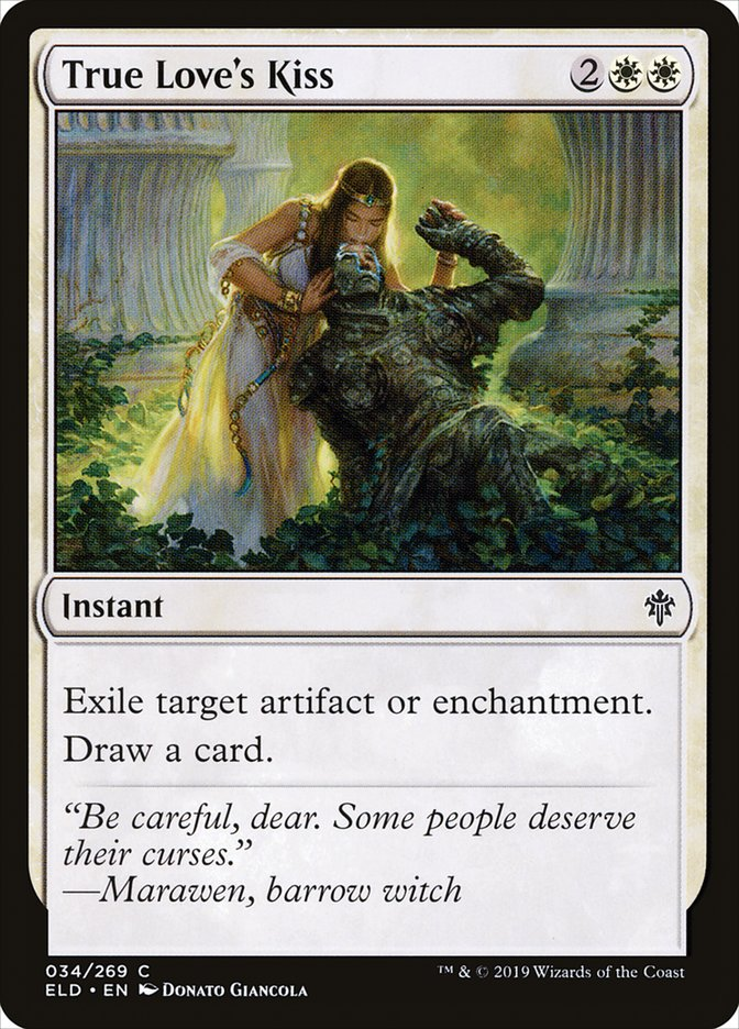 Carta Beijo de Amor Verdadeiro/True Love's Kiss de Magic the Gathering