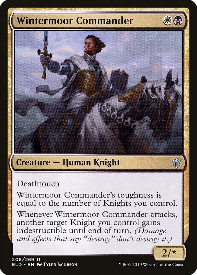 Carta Comandante de Hiberlama/Wintermoor Commander de Magic the Gathering