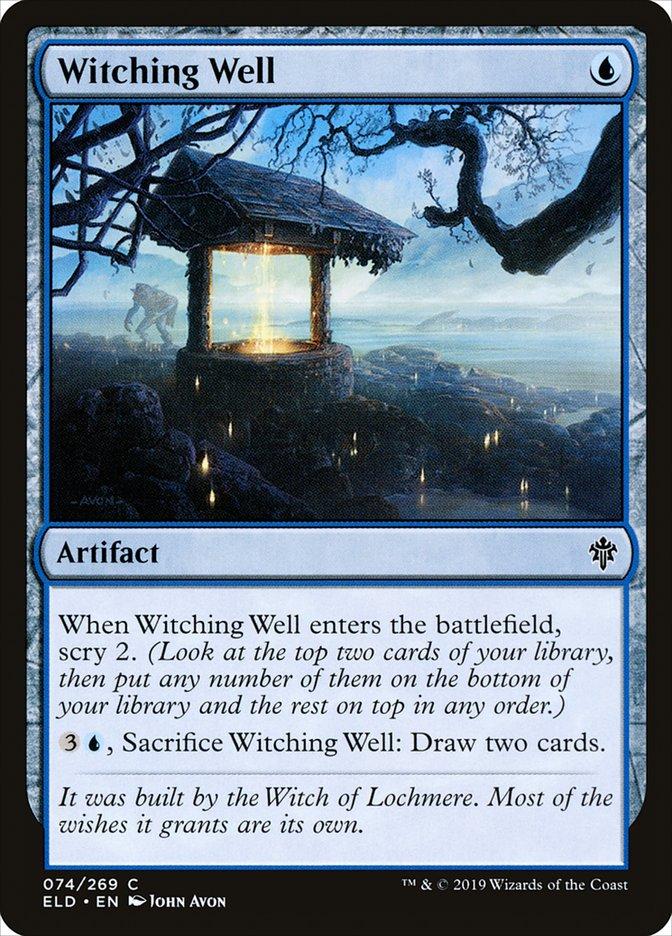 Carta Poço das Bruxarias/Witching Well de Magic the Gathering