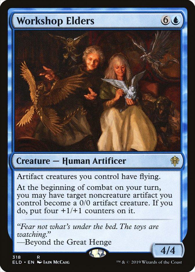 Carta Workshop Elders/Workshop Elders de Magic the Gathering