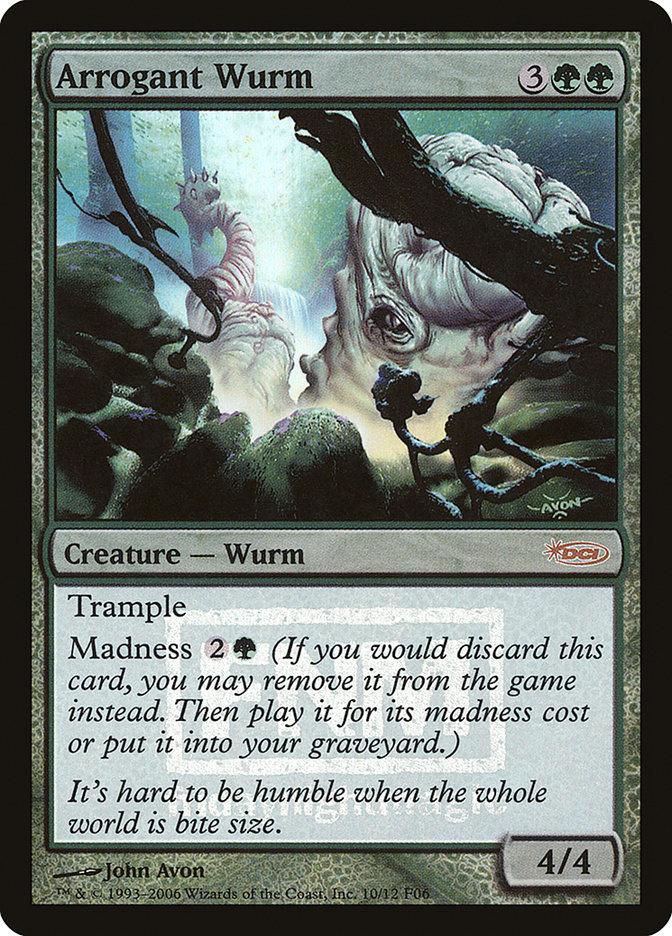 Carta Vorme Arrogante/Arrogant Wurm de Magic the Gathering
