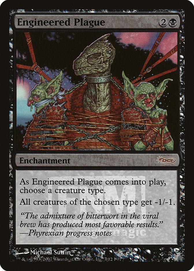 Carta Praga Fabricada/Engineered Plague de Magic the Gathering