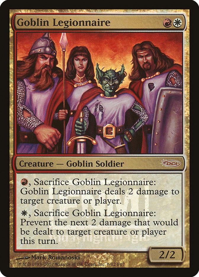 Carta Legionário Goblin/Goblin Legionnaire de Magic the Gathering