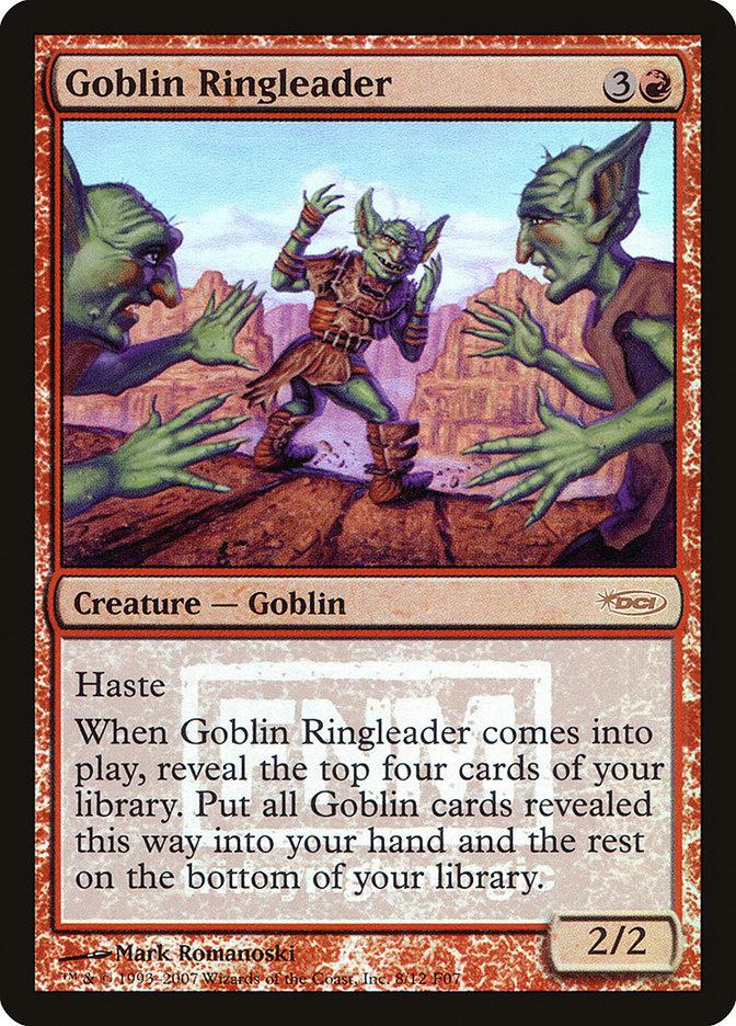 Carta Goblin Ringleader/Goblin Ringleader de Magic the Gathering