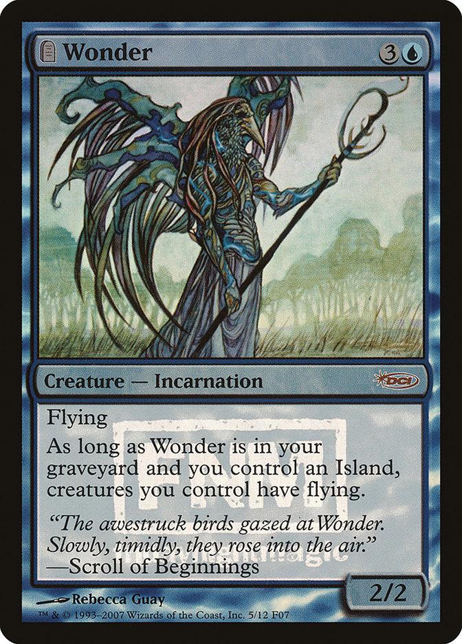 Carta Maravilha/Wonder de Magic the Gathering