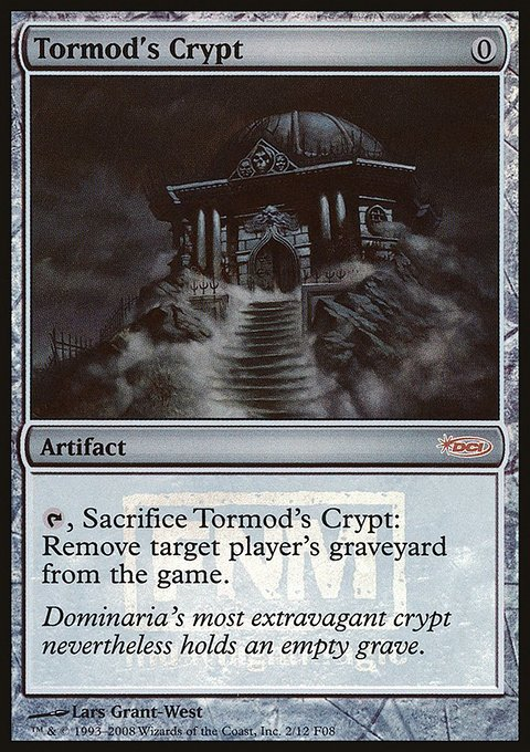 Carta Cripta de Tormod/Tormod's Crypt de Magic the Gathering
