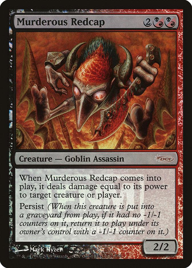 Carta Barrete Vermelho Assassino/Murderous Redcap de Magic the Gathering