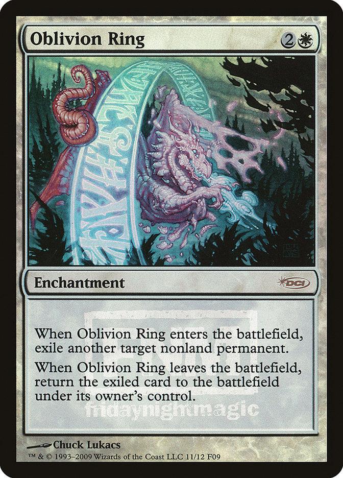 Carta Anel do Esquecimento/Oblivion Ring de Magic the Gathering