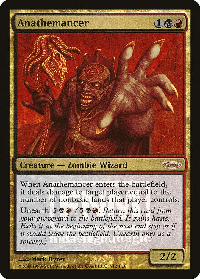 Carta Anatemântico/Anathemancer de Magic the Gathering