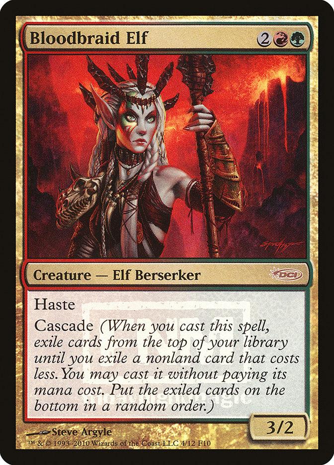 Carta Elfo Tranças-de-Sangue/Bloodbraid Elf de Magic the Gathering