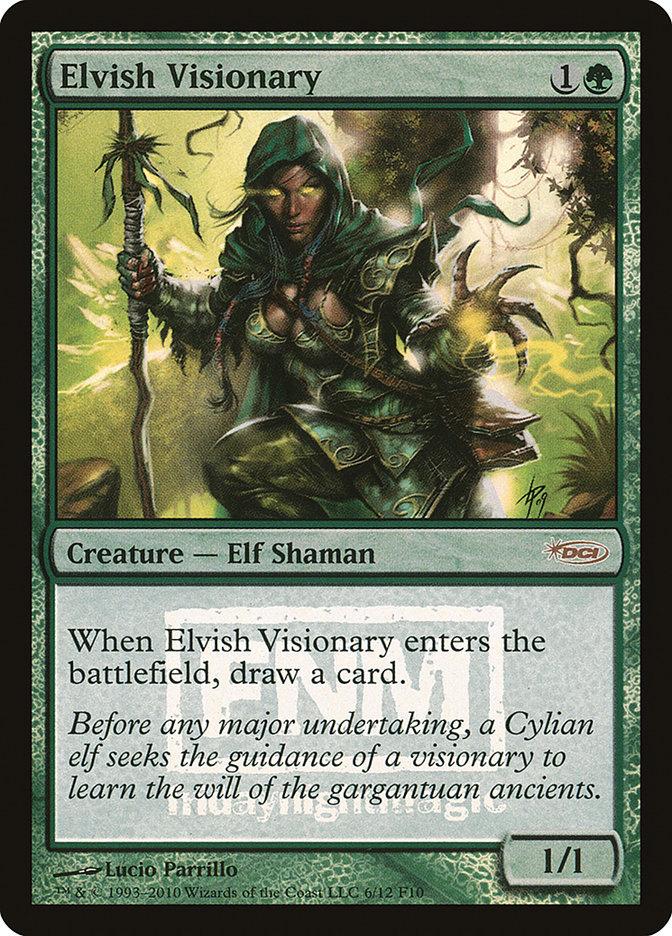 Carta Visionário Élfico/Elvish Visionary de Magic the Gathering