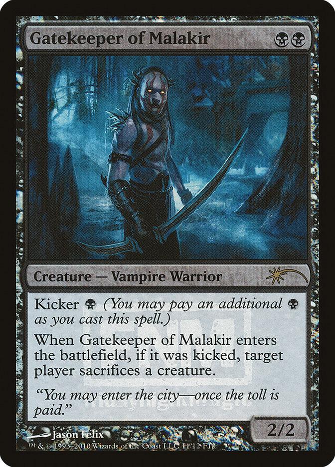 Carta Porteiro de Malakir/Gatekeeper of Malakir de Magic the Gathering