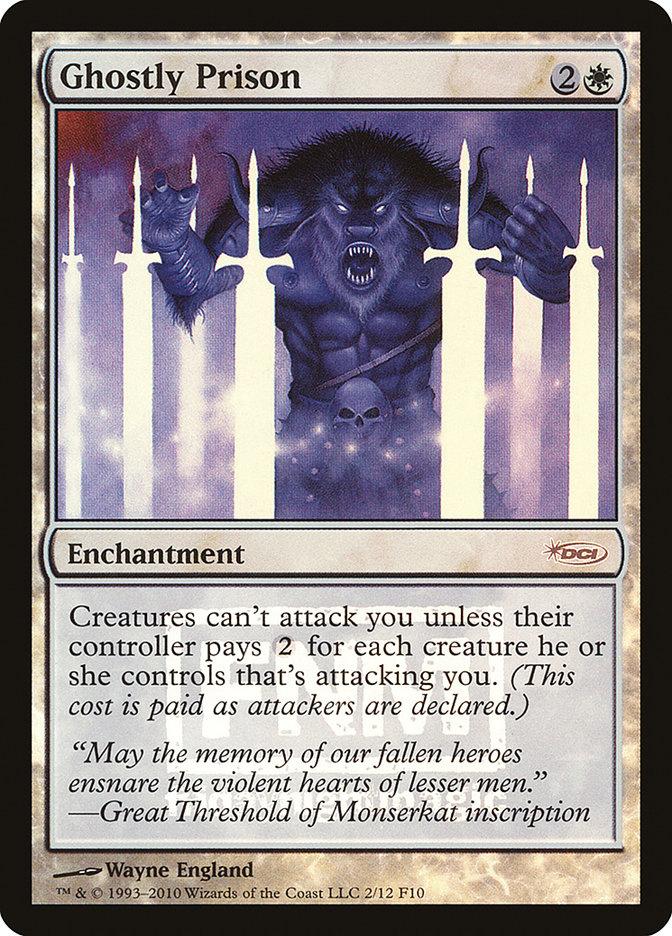 Carta Prisão Fantasmagórica/Ghostly Prison de Magic the Gathering