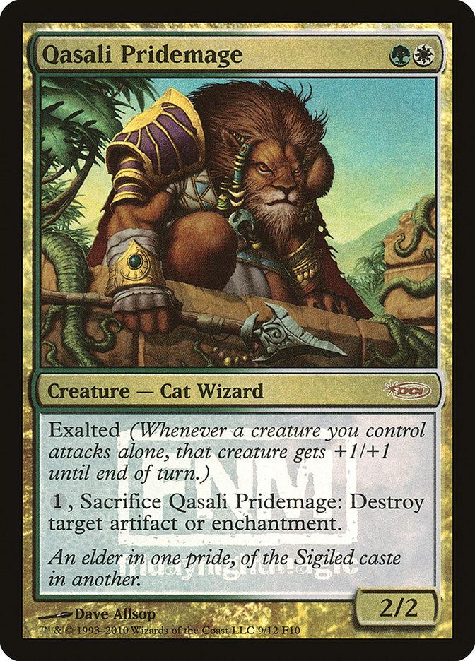 Carta Mago do Bando Qasali/Qasali Pridemage de Magic the Gathering