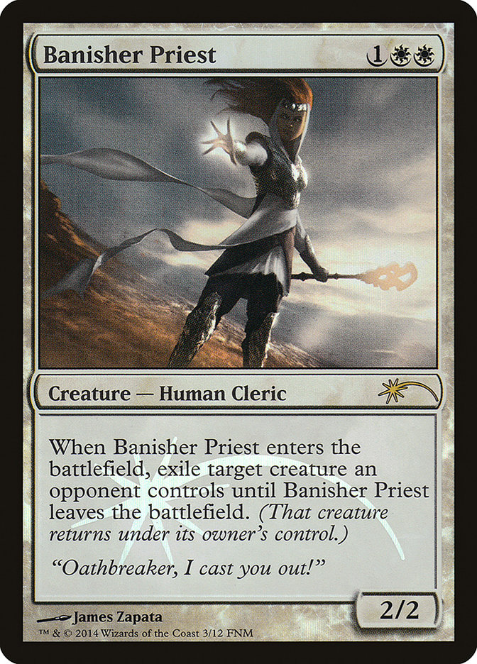 Carta /Banisher Priest de Magic the Gathering