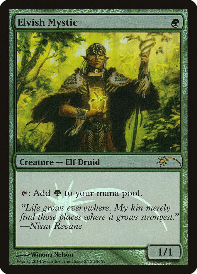 Carta /Elvish Mystic de Magic the Gathering
