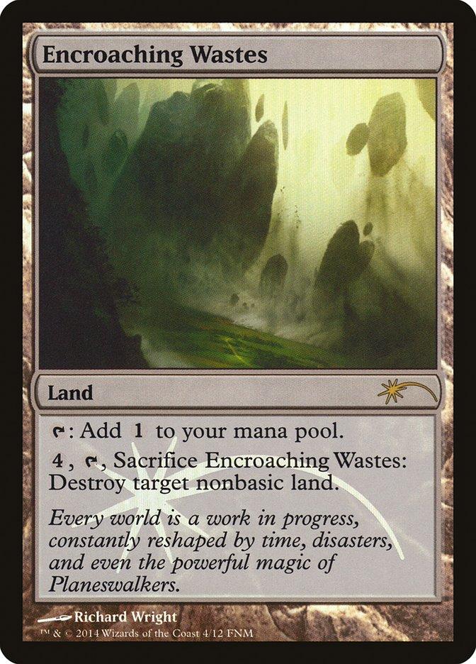 Carta /Encroaching Wastes de Magic the Gathering
