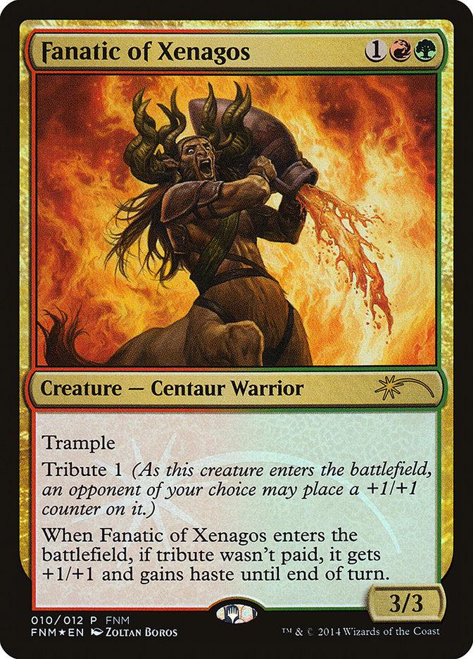 Carta /Fanatic of Xenagos de Magic the Gathering