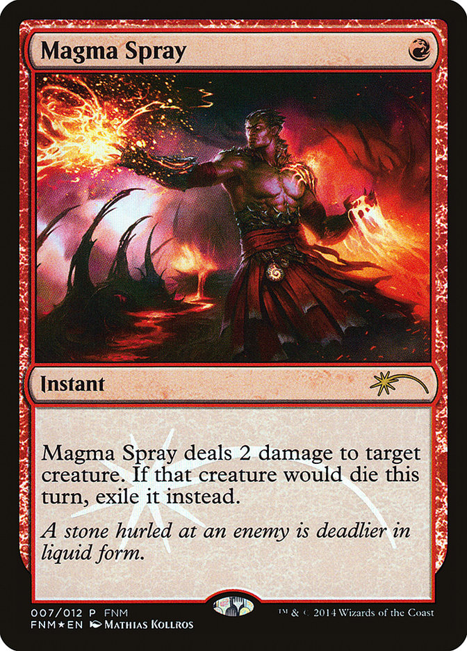 Carta /Magma Spray de Magic the Gathering