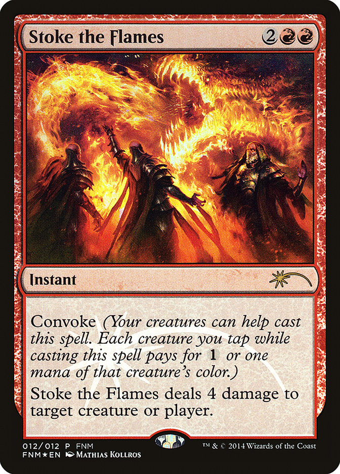 Carta /Stoke the Flames de Magic the Gathering
