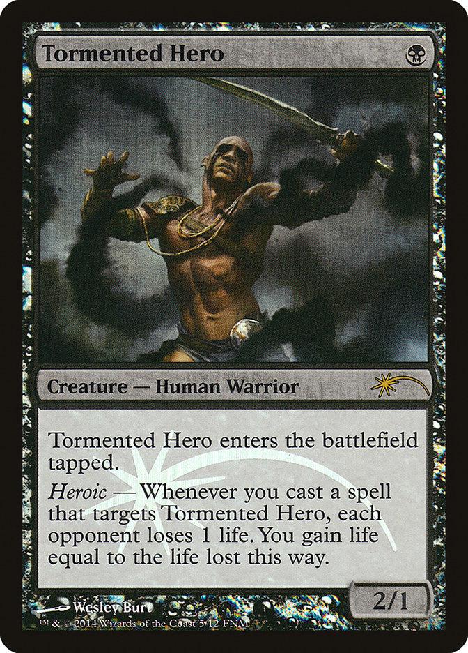 Carta /Tormented Hero de Magic the Gathering