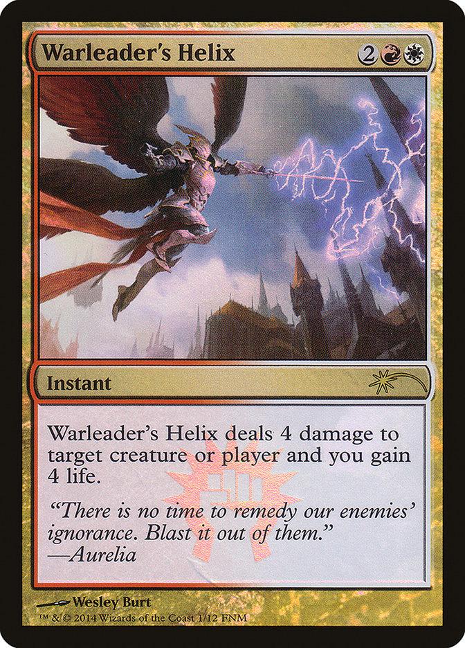 Carta /Warleader's Helix de Magic the Gathering