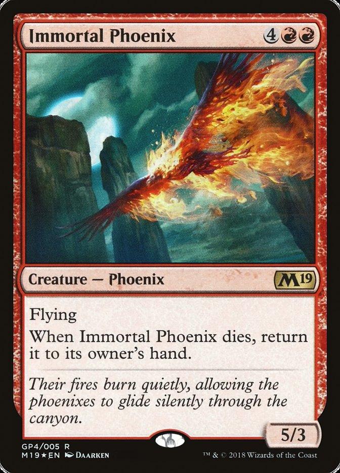 Carta Immortal Phoenix/Immortal Phoenix de Magic the Gathering