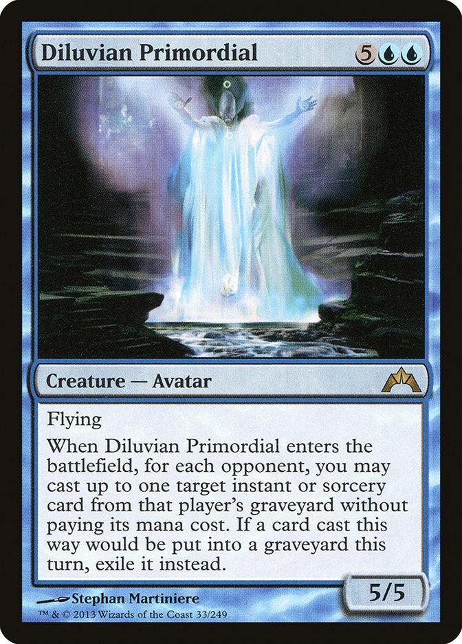 Carta Primordial Diluviano/Diluvian Primordial de Magic the Gathering