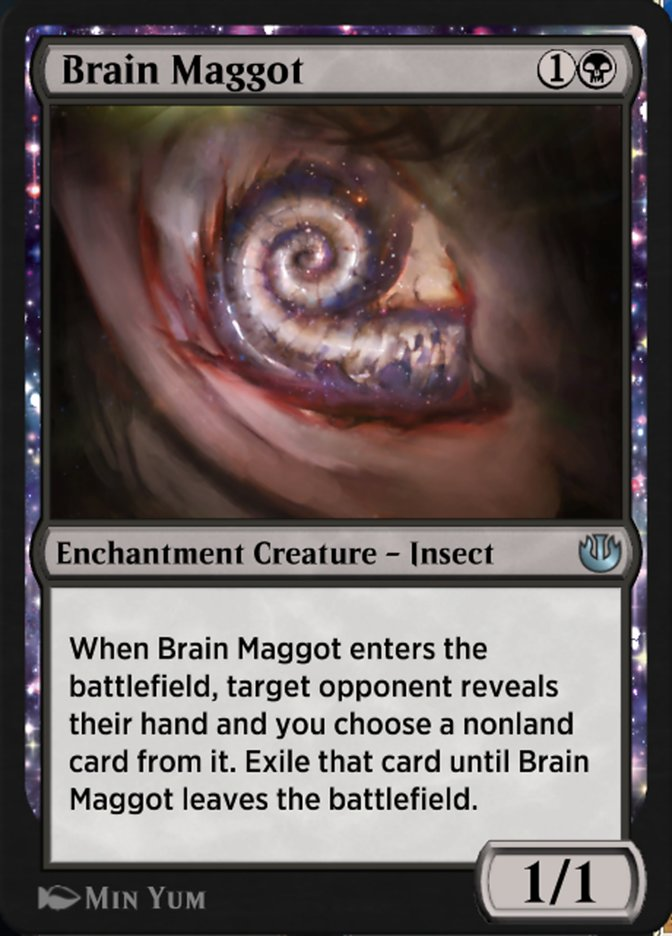 Carta Verme Cerebral/Brain Maggot de Magic the Gathering