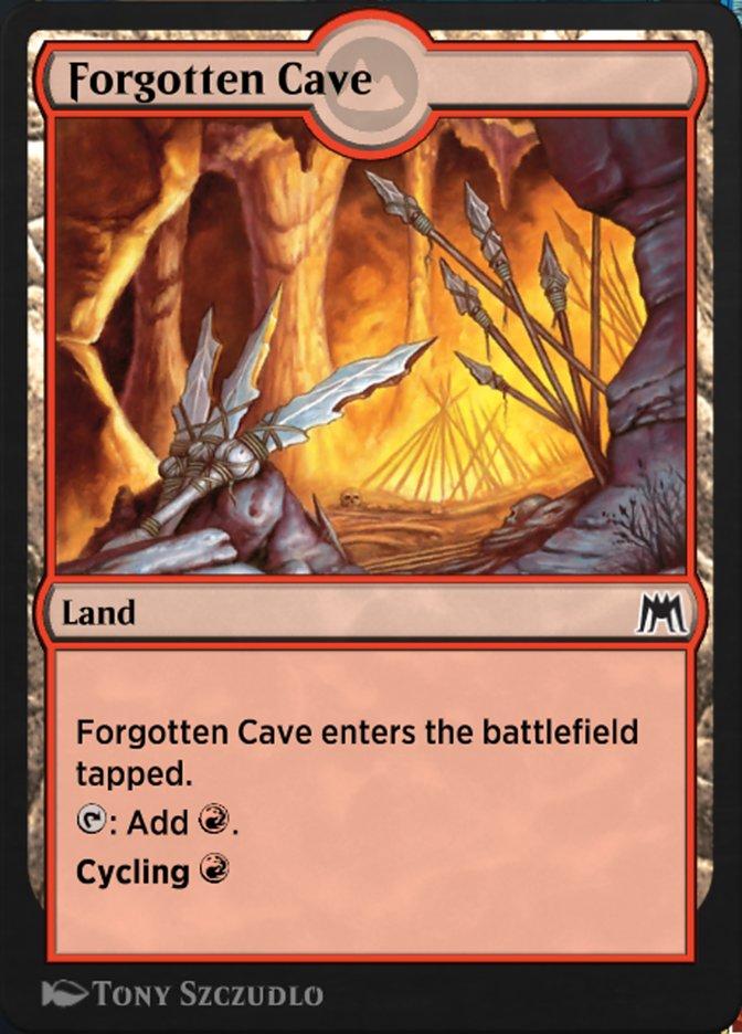 Carta Caverna Esquecida/Forgotten Cave de Magic the Gathering