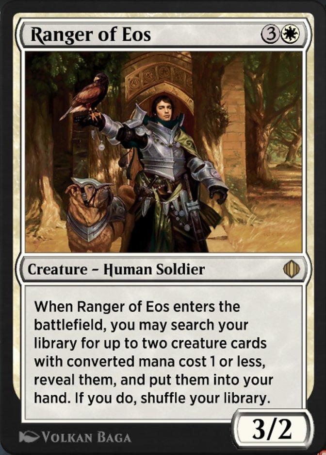 Carta Patrulheiro de Eos/Ranger of Eos de Magic the Gathering