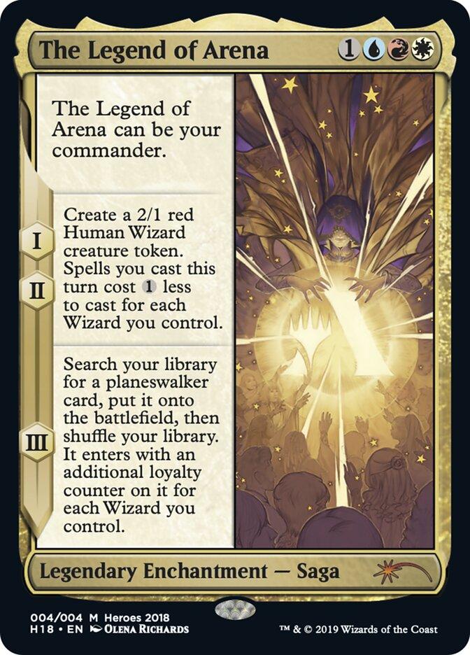 Carta /The Legend of Arena de Magic the Gathering