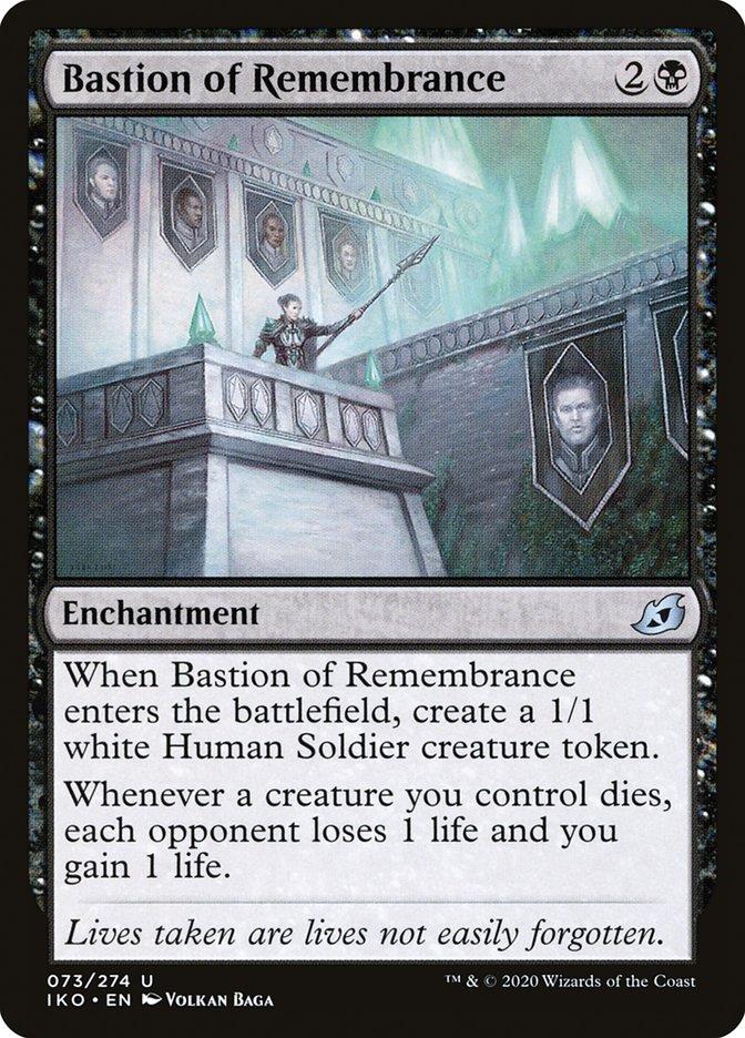 Carta Bastião da Recordação/Bastion of Remembrance de Magic the Gathering