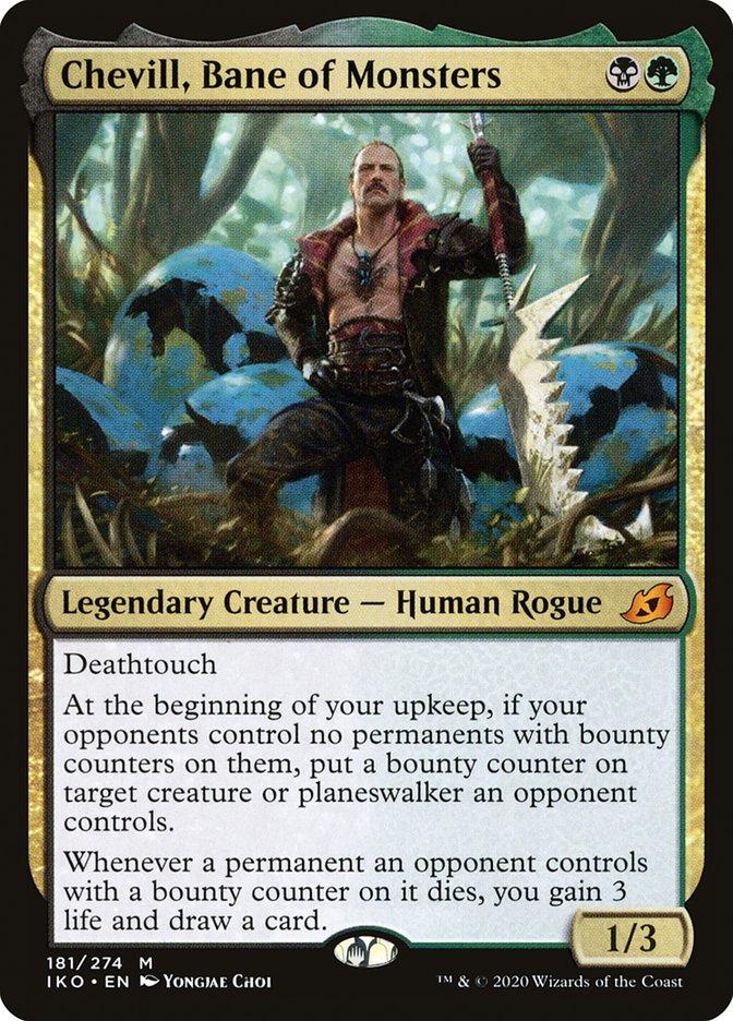 Carta Chevill, Ruína dos Monstros/Chevill, Bane of Monsters de Magic the Gathering