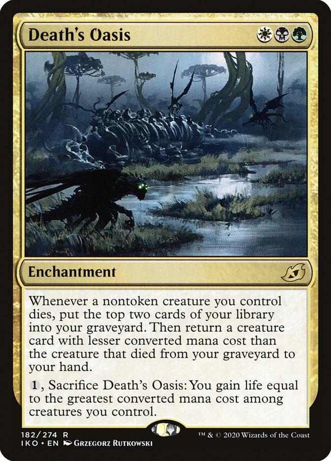 Carta Oásis da Morte/Death's Oasis de Magic the Gathering