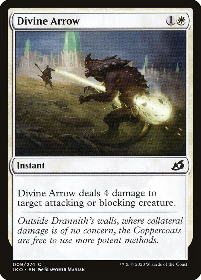 Carta Flecha Divina/Divine Arrow de Magic the Gathering