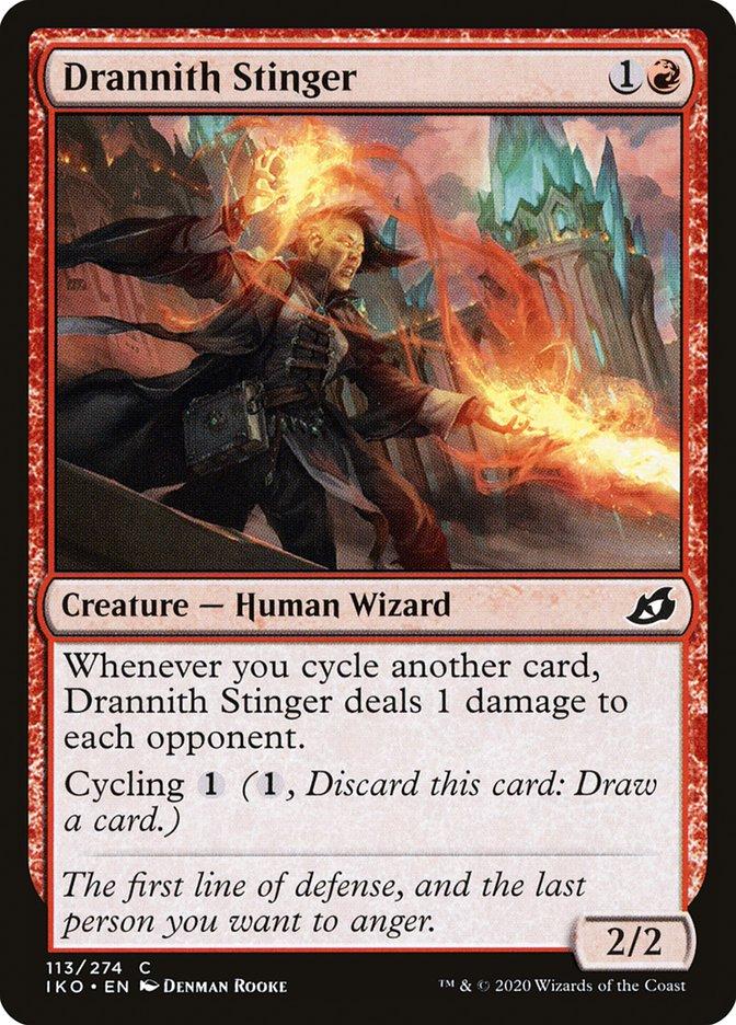 Carta Ferroadora de Drannith/Drannith Stinger de Magic the Gathering